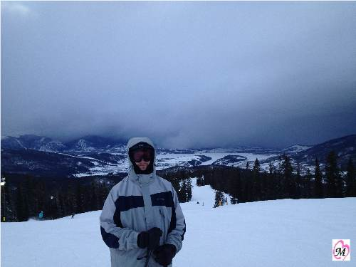 skiing in Keystone, CO