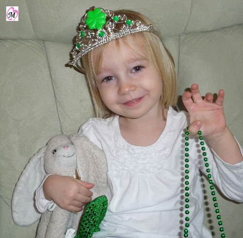 St. Patrick's Day Princess