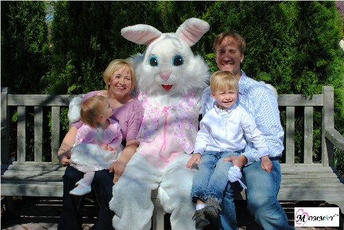 Picture with Easter Bunny