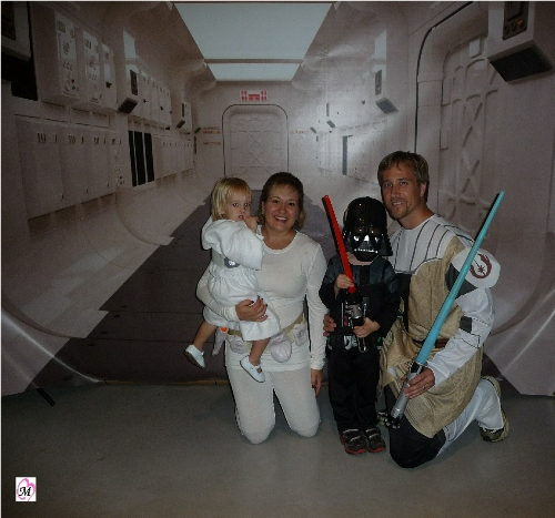 Star Wars Family Picture