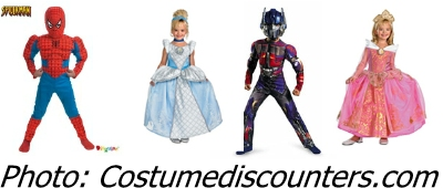 Costume Discounters Kid's Costumes