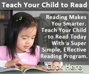 Child Learning to Read