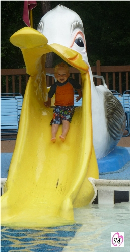 Water Slide at Water Country USA
