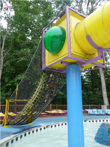 Climbing Net for Water Slide