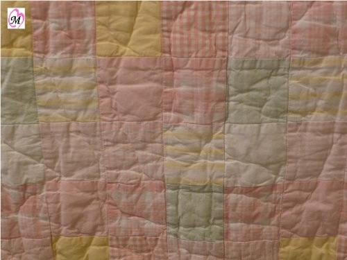 baby gingham quilt